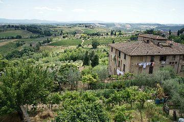 Italiaans uitzicht van Chris Gottenbos
