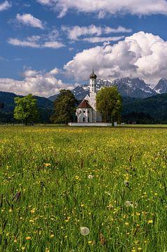 Lente in de Allgäu van Achim Thomae