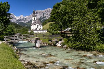 Lente in het Berchtesgadener Land van Achim Thomae