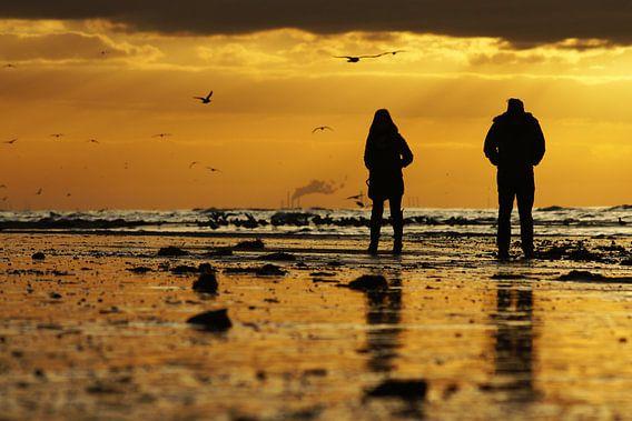 zonsondergang van Dirk van Egmond