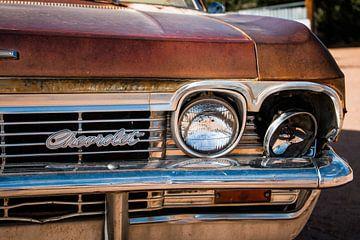 Detail eines Oldtimer-Chevrolets von Johan Veenstra