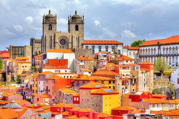Altstadt mit Kathedrale Se´ do Porto, Porto, Portuga