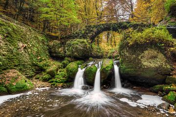 Schiessentümpel waterfall in Luxemburg #2 sur Michael Valjak