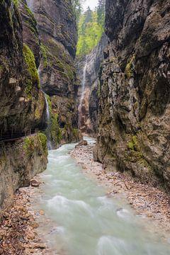 Partnach Gorge #2 van Michael Valjak