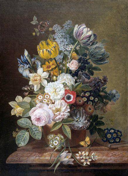 Stilleven met bloemen, Eelke Jelles Eelkema (gezien bij vtwonen) van Schilders Gilde
