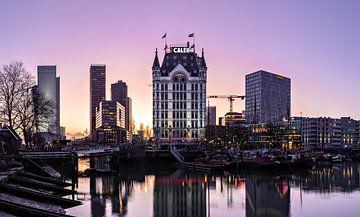 Sonnenuntergang Alter Hafen Rotterdam von Midi010 Fotografie