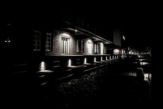 Laden bay 's nachts