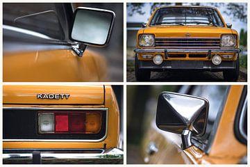 Opel Kadett coupé van Ronald van der Zon