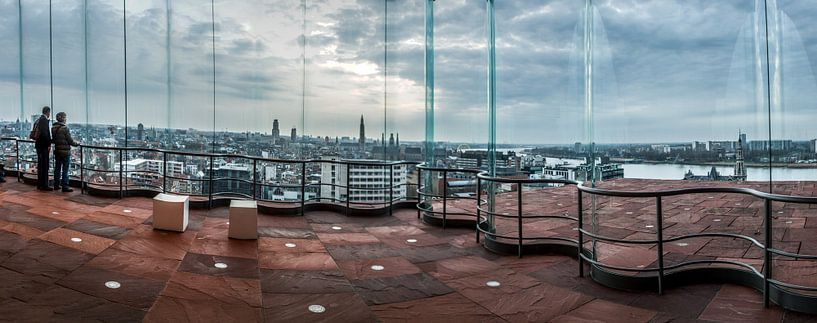 Antwerpen België van Yvette Bauwens