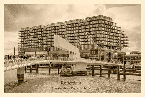 Oud ansicht Fenixloods en Rijnhavenbrug