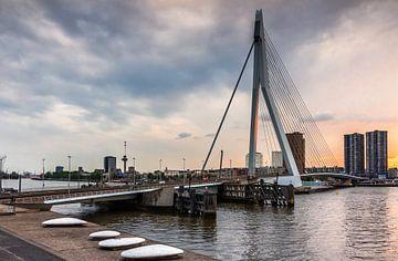 Erasmusbrug, Rotterdam von Lorena Cirstea
