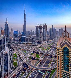 Snelwegkruising Dubai