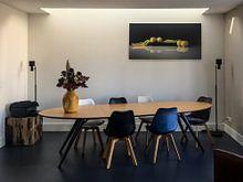 Kundenfoto: Modernes Stillleben Reine Claude von Monique van Velzen, auf alu-dibond