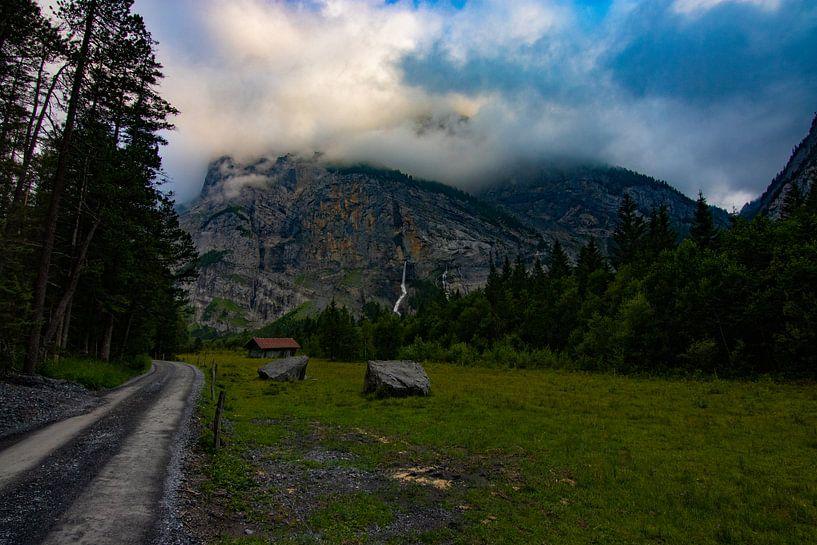 landschap van het gasterntal van Mark Lenoire