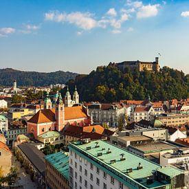 Ljubljana in Slovenia van Michael Valjak