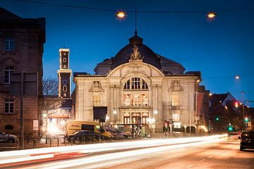 Fürth Stadttheater und Rathaus
