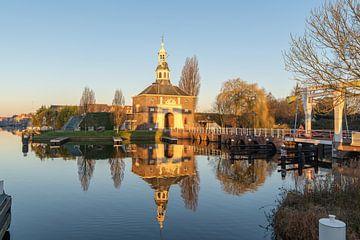 Zijlpoort in Leiden van Dirk van Egmond