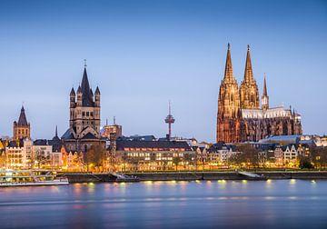Köln Rheinufer von davis davis