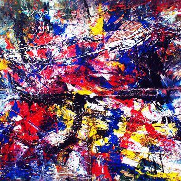 abstrakte Malerei T2 limitierte Auflage 1-100