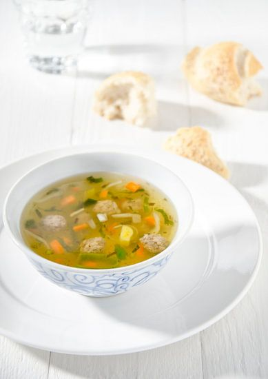 Une délicieuse soupe aux légumes