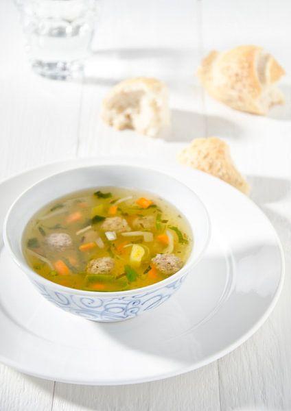Une délicieuse soupe aux légumes sur Cynthia Hasenbos