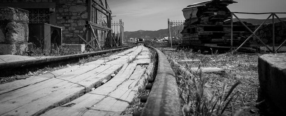 Oude spoorweg