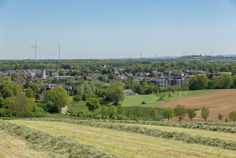 Uitzicht op Simpelveld von John Kreukniet