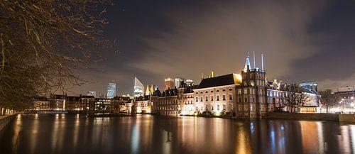 Nachtelijk Den Haag - 2 von Damien Franscoise