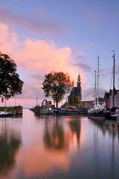 Haven Hoorn met hoofdtoren van