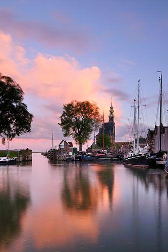 Haven Hoorn met hoofdtoren von John Leeninga