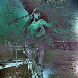 Danseres kleurrijk van Ina Hölzel