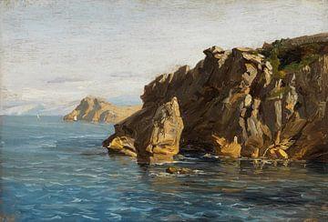Carlos de Haes-Zeezijde Riffe Landschaft, Antike Landschaft