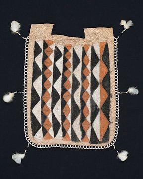 Raffia Tasje van de Asmat uit Papua van Floris Kok