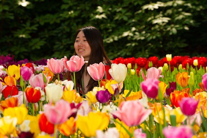 Tulpen in de Keukenhof van Brian Morgan