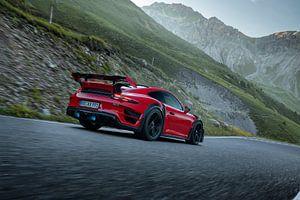 TechArt Porsche 911 GT Street RS Stelvio Pass van Gijs Spierings