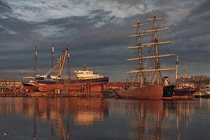 Haven en Scheepswerf te Urk (Flevoland)