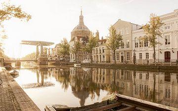 Oude Vest in Leiden sur