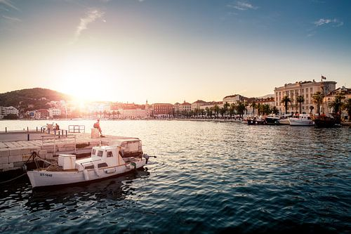 Sunset in Split von Jesse Kraal