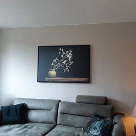 Klantfoto: Judaspenning stilleven, geïnspireerd door de werken van de Dutch masters van Joske Kempink, op canvas