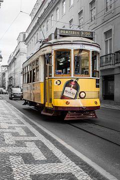 Lissabon und Straßenbahn 28 von Fokke Terpstra
