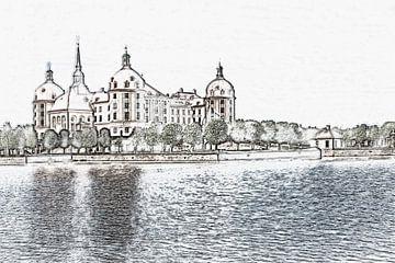 Kasteel Moritzburg, Saksen van Gunter Kirsch