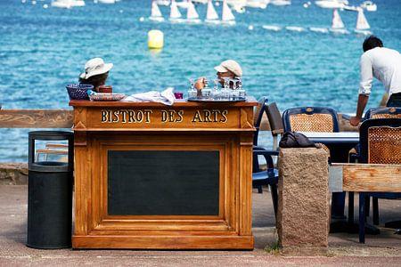 Bretagne, Le Bistrot-des-Arts von Evert Jan Luchies