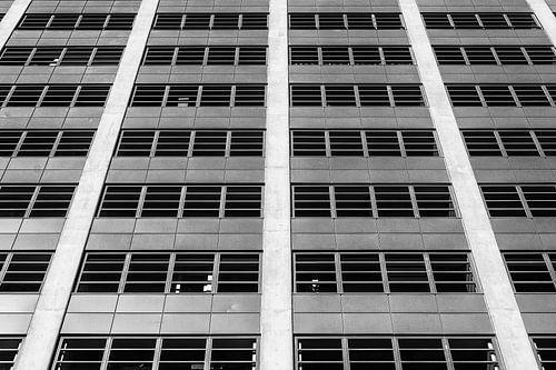 Abstract kantoorgebouw