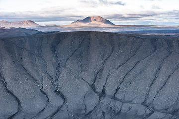 Blick vom Krater Hverfell von Leendert Noordzij Photography