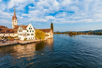 Stein am Rhein in Zwitserland van Werner Dieterich