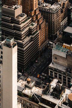 New York van boven van Jorik kleen