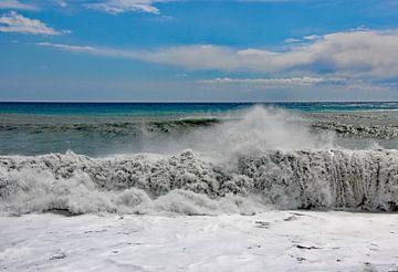 Ligurische Zee, Rapallo van Wilma Overwijn