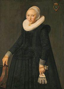 Portret van Trijntje Tijsdr van Nooij, anoniem - 1631