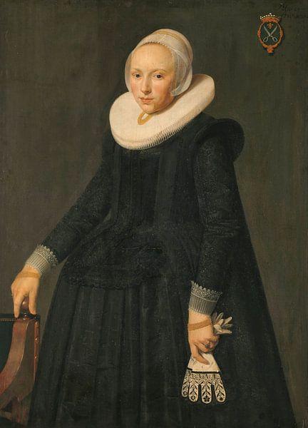 Portret van Trijntje Tijsdr van Nooij, anoniem - 1631 van Het Archief
