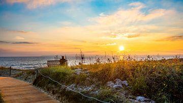 Sonnenaufgang an der Ostsee von Günter Albers